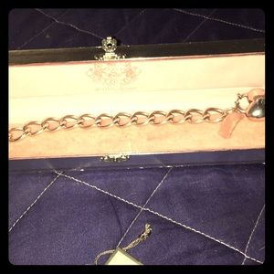 Juicy Couture sterling silver bracelet
